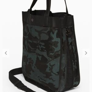 Lululemon now and always tote bag